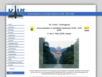kivs09.de Webseite Vorschau