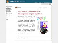 jython.ch Webseite Vorschau