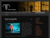 photo-troopers.de Webseite Vorschau