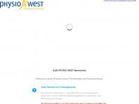 physiowest.ch Webseite Vorschau