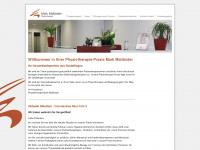 physiotherapie-mailaender.de Webseite Vorschau