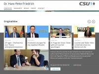 hans-peter-friedrich.de