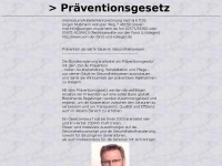 Praeventionsgesetz.de