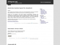 233grad.net Webseite Vorschau