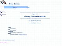 kirch-service.com Webseite Vorschau