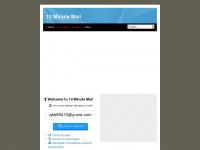 10minutemail.org Webseite Vorschau