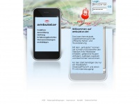 ambulator.org Webseite Vorschau