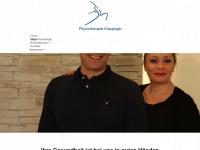 physiotherapie-kasapoglu.de Webseite Vorschau