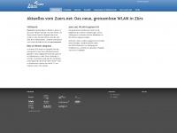 zuers.net Webseite Vorschau