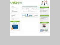 uvk24.net Webseite Vorschau