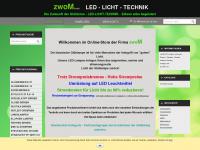 led-zwom.de Webseite Vorschau
