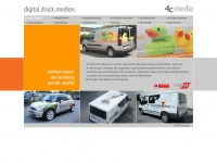 4cmedia.net Webseite Vorschau