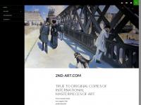 2nd-art.com Webseite Vorschau