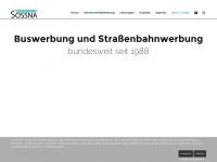 werbeagentur-sossna.de Webseite Vorschau