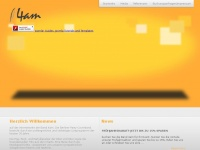 4am-music.com Webseite Vorschau