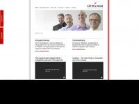loehr-kolb.de Webseite Vorschau