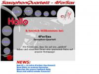 4forsax.com Webseite Vorschau