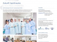 zukunft-sporttrauma.de Thumbnail