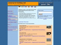 Tyrol-holiday.net