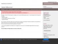 physiotherapie-krefter.de Webseite Vorschau