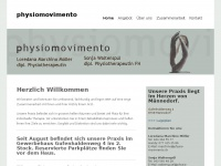 physio-movimento.ch Webseite Vorschau