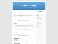 lolminbet.wordpress.com Webseite Vorschau