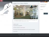 gestaltungsmaterialien.de Webseite Vorschau