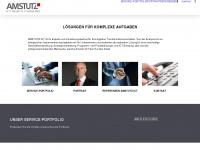 amstutz-ict.ch Webseite Vorschau