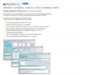 amazing-sql.com Webseite Vorschau