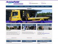 amtsfeld.net Webseite Vorschau