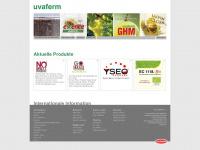 uvaferm.com Webseite Vorschau