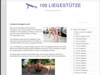 100liegestuetze.net Webseite Vorschau