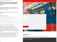 dbauskunft.net Webseite Vorschau