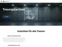 tresor-gutachter.de Webseite Vorschau
