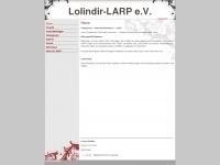 lolindir.net Webseite Vorschau