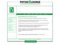 physio-lounge.net Webseite Vorschau