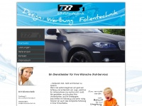 b3-folientechnik.de Webseite Vorschau