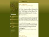 13thopposite.wordpress.com Webseite Vorschau