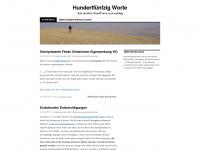 150worte.wordpress.com Webseite Vorschau