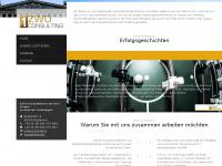 1zwo-consulting.com Webseite Vorschau
