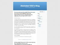 26oktober1955.wordpress.com Webseite Vorschau