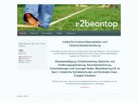2beontop.com Webseite Vorschau