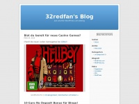 32redfan.wordpress.com Webseite Vorschau