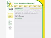 4-pfoten-physio.com Webseite Vorschau