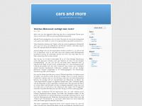 4carsandmore.wordpress.com Webseite Vorschau