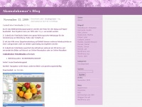 akamalakumar.wordpress.com Webseite Vorschau