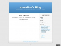 amaxline.wordpress.com Webseite Vorschau