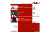 amdeartists.com Webseite Vorschau