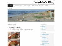 amolala.wordpress.com Webseite Vorschau