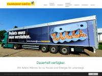 tankhof-gruen.de Webseite Vorschau